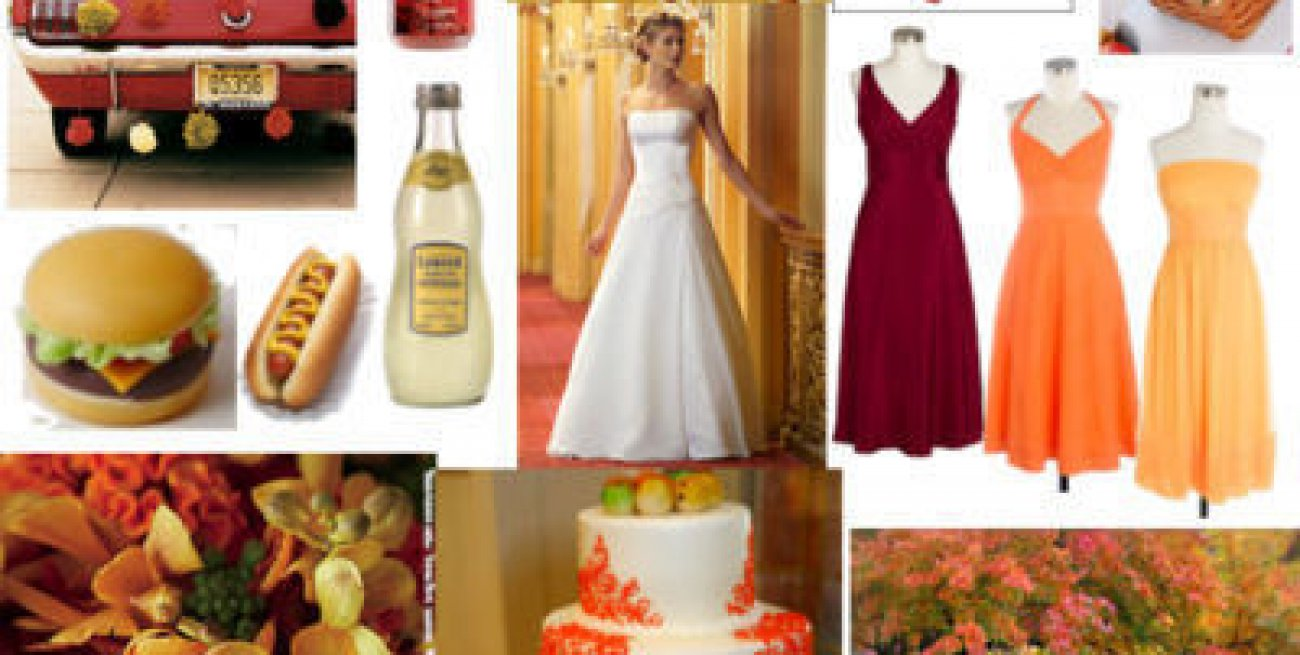 Decorazioni Matrimonio Arancione : Matrimonio color arancione