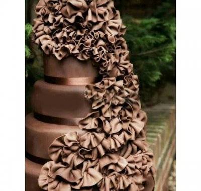 wedding cake cioccolato