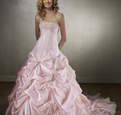 Sposa in rosa