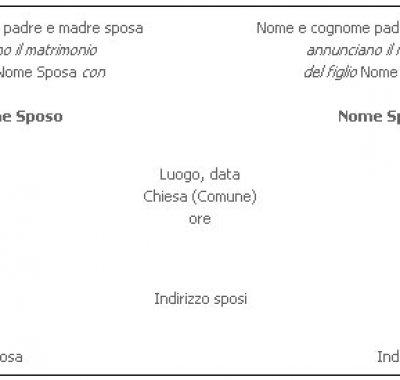 6a31ee9ed8909 Come scrivere inviti e partecipazioni matrimonio  esempi classici.