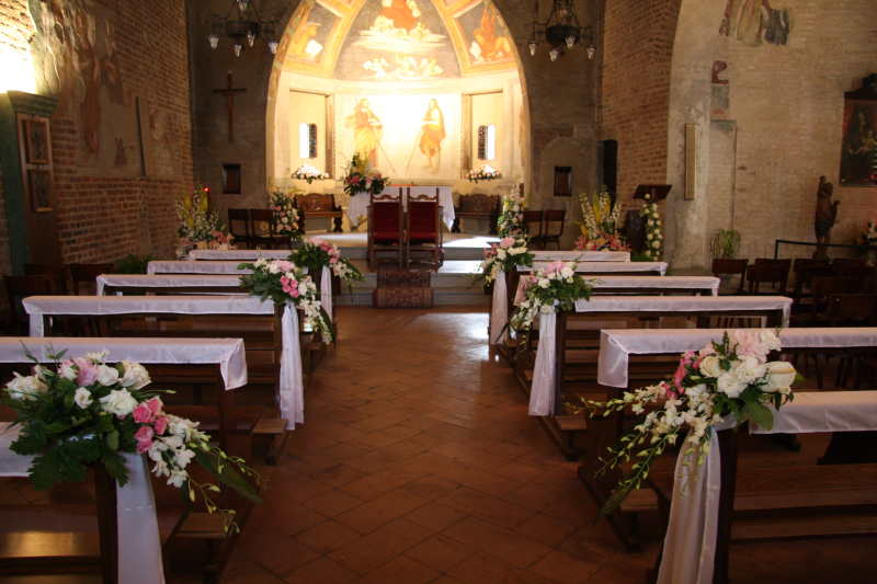 Preferenza Addobbi chiesa matrimonio OZ42