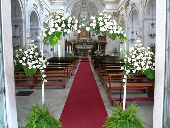 Matrimonio Toscana Wedding Planner : Addobbi chiesa matrimonio