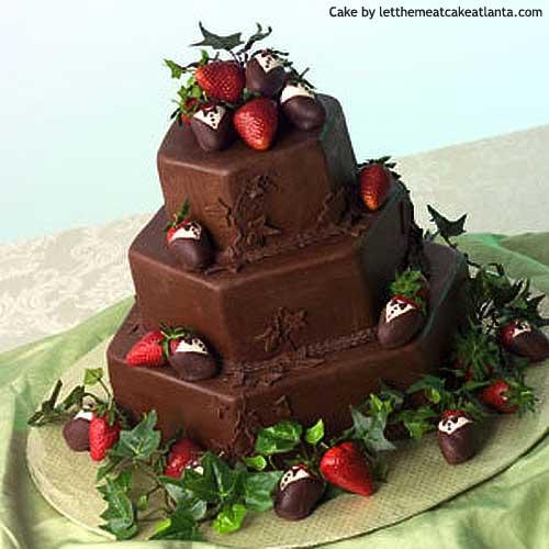 Matrimonio Spiaggia Marche : Torta nuziale al cioccolato
