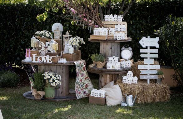 idee matrimonio country chic