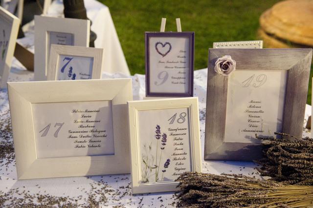 Idee tableau matrimonio for Cornici a giorno ikea